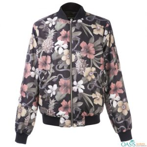 Floral Printed Sublimation Jacket