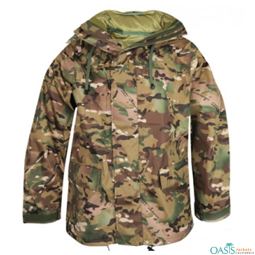 Wholesale Forest Printed Army Jacket