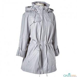 Full Sleeve Formal Grey Jacket