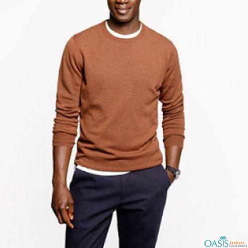 Full sleeve round neck sweatshirt