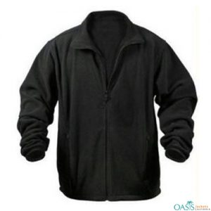 Gorgeous Black Polar Fleece Jacket