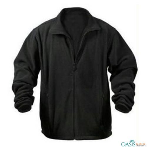 Gorgeous Black Polar Fleece Jacket