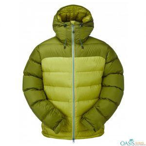 Green Hooded Mountain Jacket