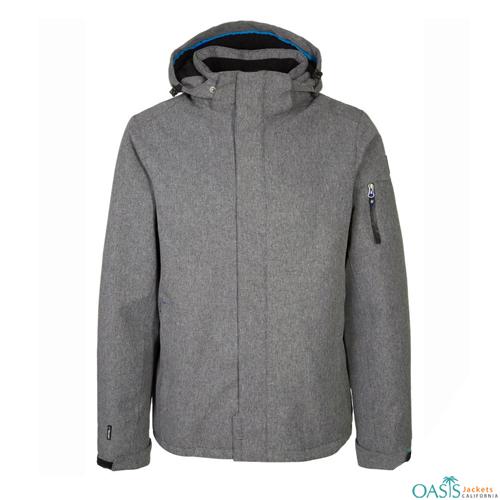 Grey Parrot Ski Jacket