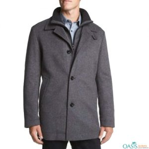 Grey Stylish Gentleman Coat