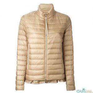 Grey Hooded Padding Jacket