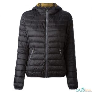 Greyish Black Heavy Padded Jacket