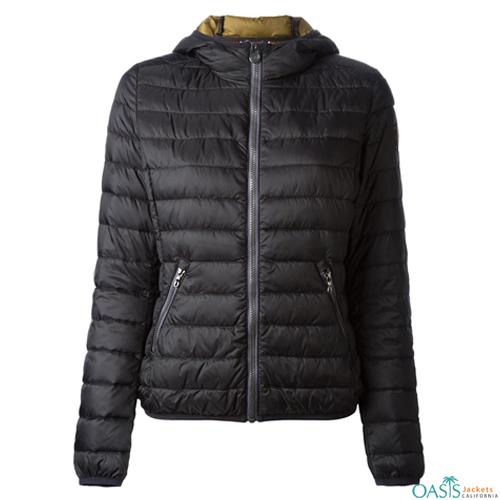 Greyish Black Heavy Padded Jacket