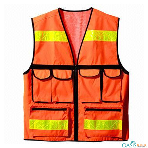High Visibility Safety Vests for Workers
