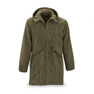 Hooded Khaki Jacket for Women