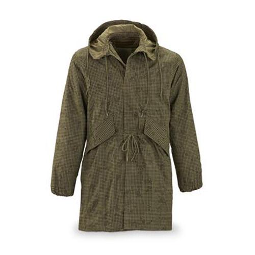 Hooded Khaki Jacket for Women