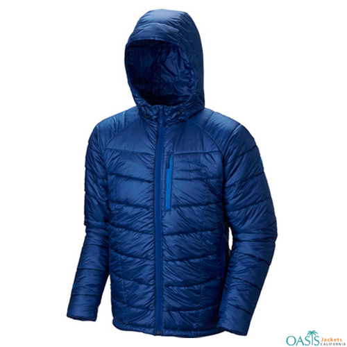 Hooded Mens Mountain Jacket