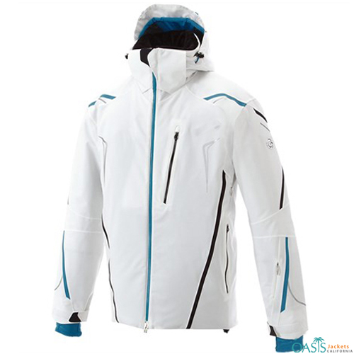 Icy White Ski Jacket
