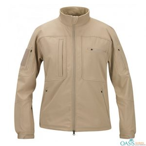 Impressive Gray Softshell Jacket