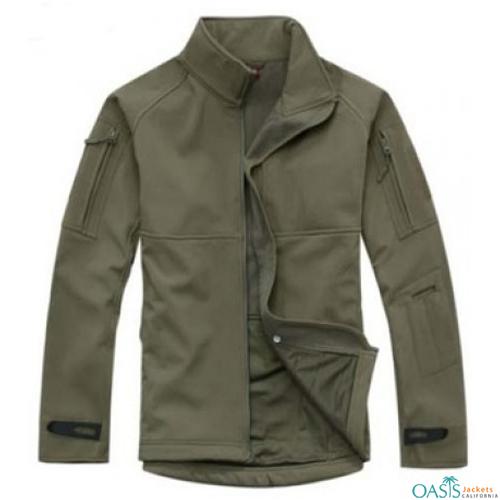 Khaki Smart Army Jacket