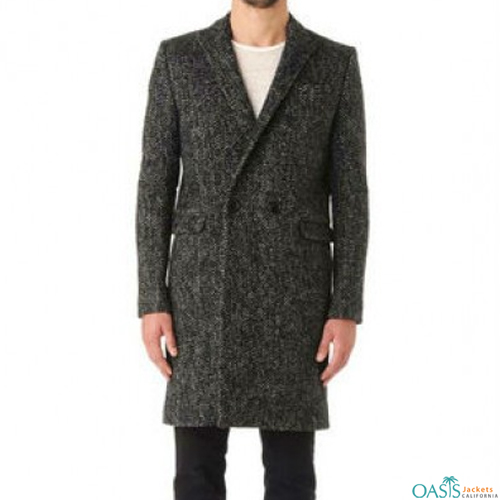 Knitted Royal Long Coat