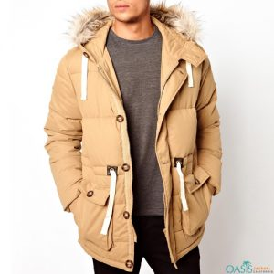 Long Drawn Parka Jacket