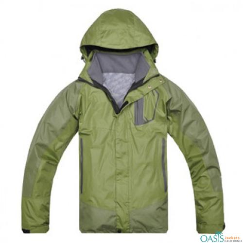 Wholesale Misty Moss 3 in 1 Jacket