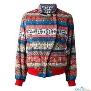 Multi Color Print Jacket Manufacturer