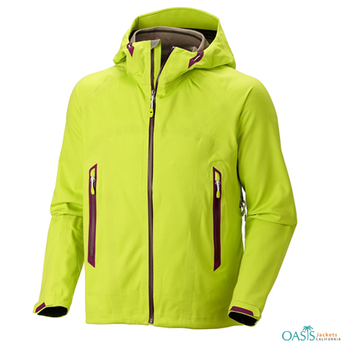 Multi Green Mens Mountain Jacket