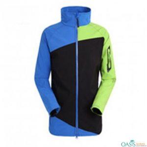 Multihued Blocked Jacket