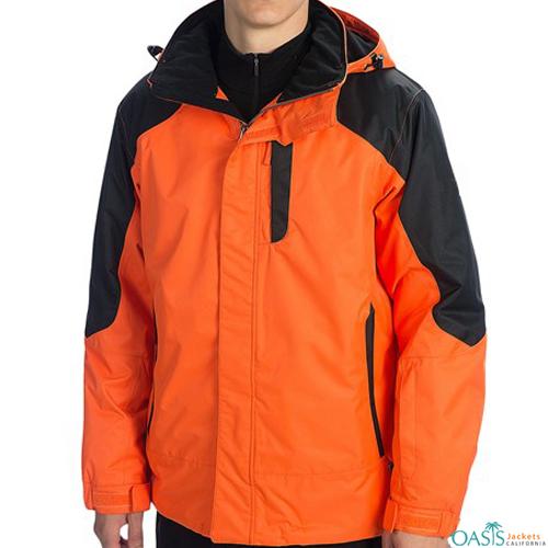 Neon Carrot Ski Jacket Wholesale