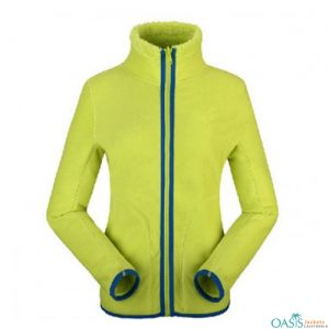 Neon Style Fleece Jacket