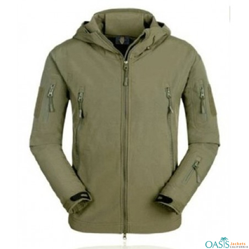 Wholesale Olive Sturdy Army Jacket