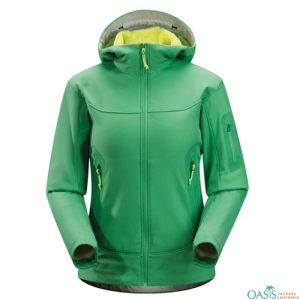 Onyx Green Soft Shell Jacket