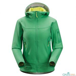 Onyx Green Soft Shell Jacket