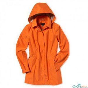 Orange Regular Rain Jacket