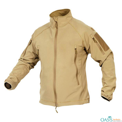 Outstanding White Softshell Jacket