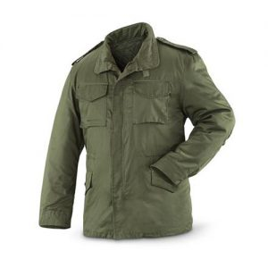 Padded Army Jacket