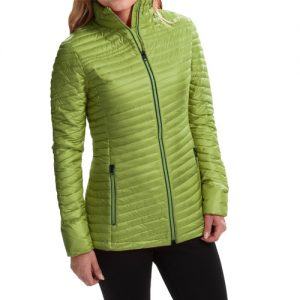 Pear Green Womens Micro Jacket