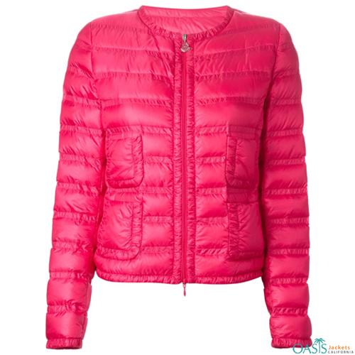 Pink Padding Jacket for Women