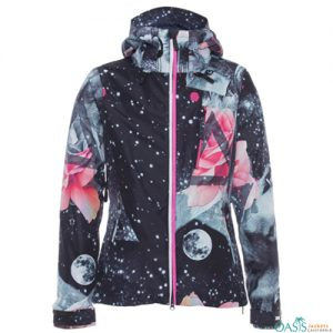 Pink Touch Ski Jacket