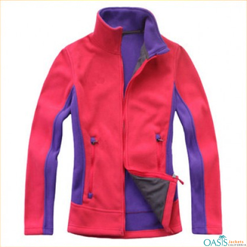 Pink and Purple Fleece Jacket