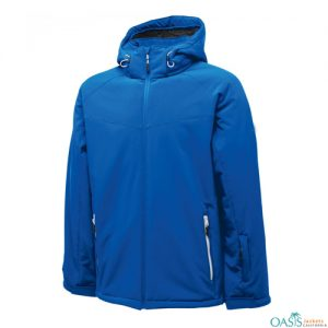 PLEASANT BLUE SOFTSHELL JACKET