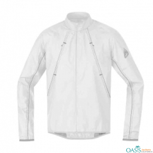PURE WHITE SPORTS JACKET
