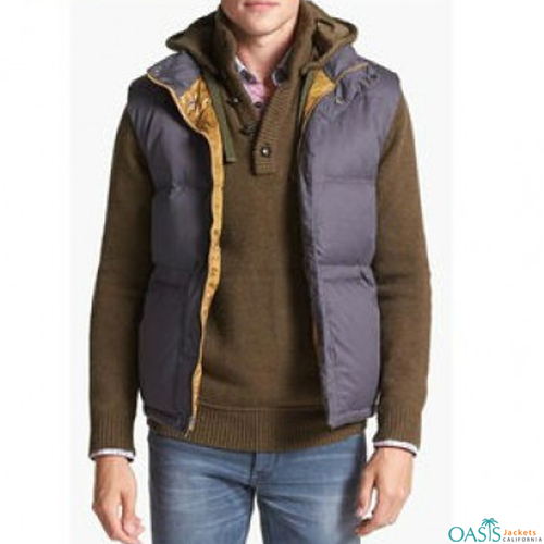 Purple Quilted Jacket