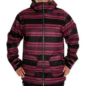 Purple Striped Heather Jacket