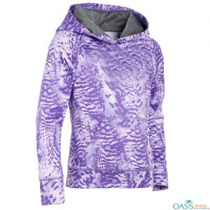Purple Stylish Sublimation Sweatshirt