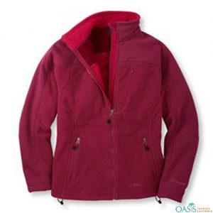 Radiant Red Polar Fleece Jacket