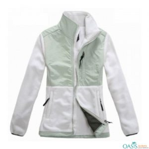 Radiant White Polar Fleece Jacket