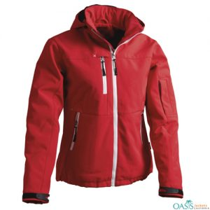 Ravishing Red Softshell Jacket