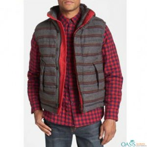 Red Bordered Grey Jacket