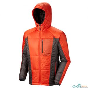 Red Grey Heavy Mountain Jacket