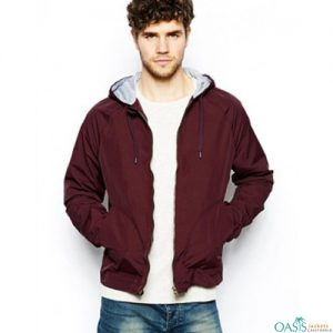 Red Violet Paradigmatic Lifestyle Jacket