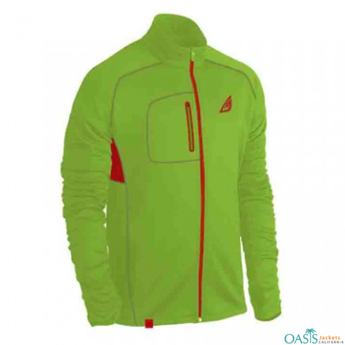 Red and Green Contrast Jackets