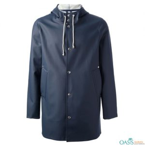Robin Blue Rain Coat